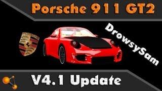 BeamNG Porsche 911 GT2 V4.1 Update