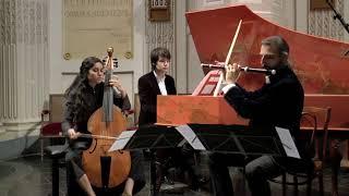 Jean-Marie Leclair : Sonate pour flûte, viole de gambe et BC - Allegro assai