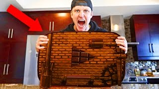 Top 10 YOUTUBERS WITH EDIBLE PLAY BUTTONS!