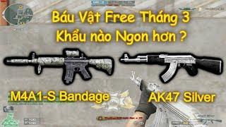 [ Bình Luận CF ] AK47 Silver • M4A1 S Bandage | *»..Pïñö..«*
