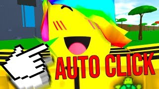 I USED AN AUTOCLICKER FOR THIS GAME *9999 SIZE* (Roblox Size Simulator)