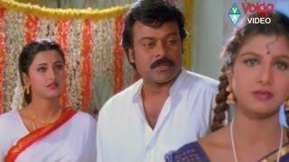 Chiranjeevi first night with Rachana..searching for Rambha in dark.