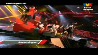 MENTOR LEGEND Final: Protege Mentor Legend - Mewangi / Tunjuk Ajarku Sifu
