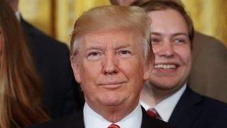 Trump pressures Senate to vote on health care reform