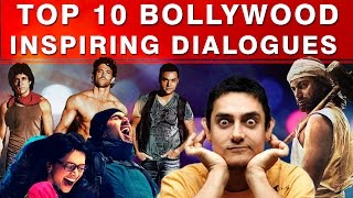 Top 10 Bollywood Inspirational Speech (Dialogues) - Motivational Video in Hindi