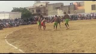 Sonu Songal VS Kalli Chattar