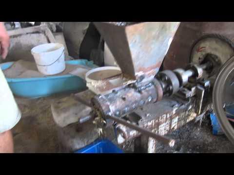 Изготовление гранулятора своими руками для кроликов
