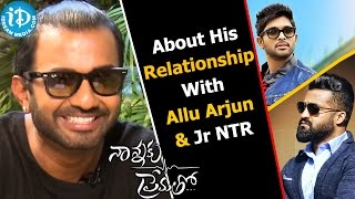 Ashwin Mawle About His Relationship With Allu Arjun And Jr NTR || Talking Movies With iDream