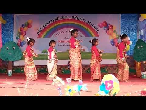 Xxx Mp4 Bodo Rabha Nepali Asamese Garo Remix Dance By Nisha Daimari Group In Bhooteachang With Children 3gp Sex