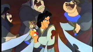 Aladdin and the King of Thieves (1996) Trailer (VHS Capture)