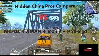 China Pros vs  SOUL | Ultimate Bridge Campers | SOUŁ々MortaL | SOUŁ々Aman | PUBG MOBILE