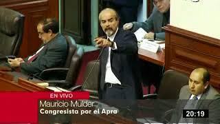 Congresista Mauricio Mulder VS Richard Arce interpelacion a la ministra de educación