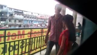 Public evtiging school students in Mirpur Dhaka Bangladesh
