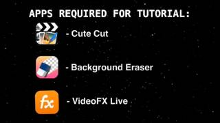 How to make custom green screen videos, and how to use them. (With Editing Apps)