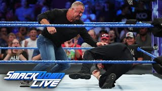 Shane McMahon attacks Kevin Owens: SmackDown LIVE, Sept. 5, 2017