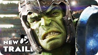 Thor vs Hulk Fight Film Clip (2017) Thor 3 Ragarok
