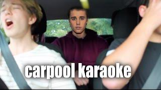 Carpool Karaoke ft. Justin Bieber