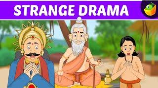 Strange Drama | Tenali Raman In English | Animated Stories For Kids