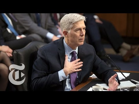 Gorsuch Hearings Day 4