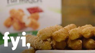 Food Factory USA: Mozzarella Stick-ing Around | FYI