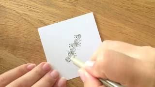 Zentangle® Muster Squiggles