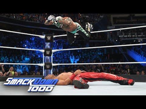 Xxx Mp4 Rey Mysterio Vs Shinsuke Nakamura WWE World Cup Qualifying Match SmackDown 1000 Oct 16 2018 3gp Sex
