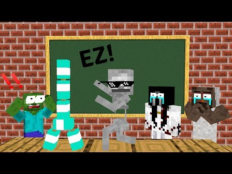 Xxx Mp4 Monster School BOTTLE FLIP CHALLENGE VS GRANNY SLENDRINA BALDI S BASIC Minecraft Animation 3gp Sex