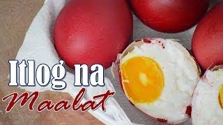Homemade Itlog na Maalat (Filipino Style Salted Egg)  | It