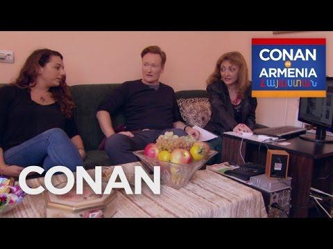 Conan & Sona Visit An Armenian Matchmaker CONAN on TBS