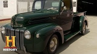 Counting Cars: Restored '42 Ford Pickup | History