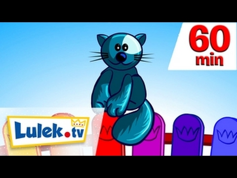 Wlazł kotek na płotek I więcej filmów dla dzieci I 60 minut z Lulek.tv