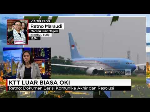 Presiden Jokowi Hadiri KTT-LB OKI - Retno Marsudi, Menteri Luar Negeri