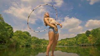 Hula Hoop Girl On OrcaVue - 360 Shot