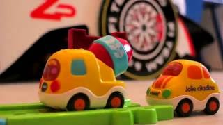 RACING TOYS CARS with SPIDERMAN in Stop Motion