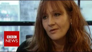 What JK Rowling said about the first Harry Potter book - BBC News