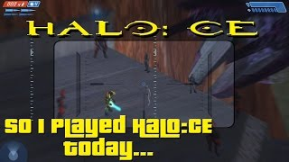 So I Played A Strange Halo CE Mod Today...