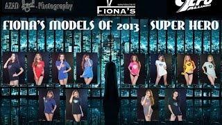 Fiona's Models Of 2013 Grand Finals - SUPER HEROES