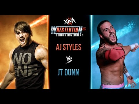 XWA Wrestlution 15 - AJ Styles can not wrestle, a replacement is named