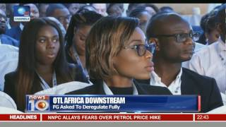 News@10: Oil&Gas Experts Ask FG To Deregulate Fully 25/10/16 Pt.3