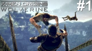 X-Men Origins Wolverine PS3 Gameplay #1 [Not To Be F*cked With]