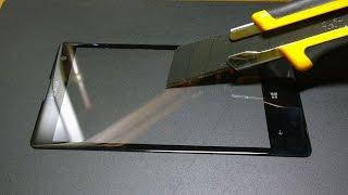 【Gorilla Glass 3】 scratch test / lumia 1020