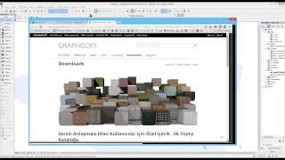 ArchiCAD 18 (Türkçe) ve Yenilikleri - Bölüm.1