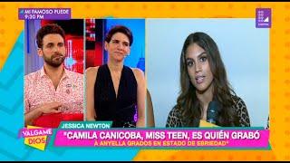 Camila Canicoba, la Miss Teen Perú, fue quien grabó a Anyella Grados - Válgame Dios