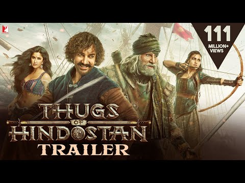 Xxx Mp4 Thugs Of Hindostan Official Trailer Amitabh Bachchan Aamir Khan Katrina Kaif Fatima 3gp Sex