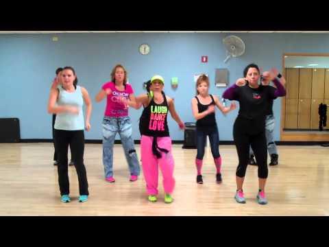 La Colegiala by Calo ft Margarita Basic choreo for Dance fitness