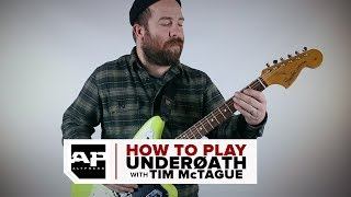 How To Play UnderØATH Riffs Taught by UnderØATH Guitarist Tim McTague