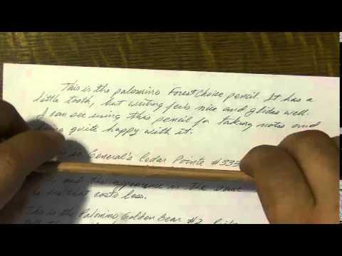 World's Best Pencil search |Staedtler norica HB vs Paper Mate Mirado Black Warrior