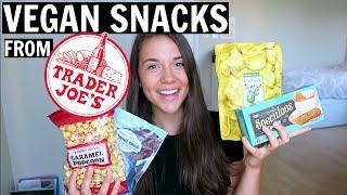 My Favorite VEGAN Snacks from Trader Joe
