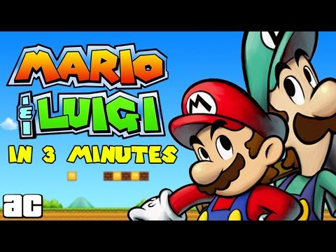 The Mario & Luigi Storyline In 3 Minutes and MORE Videogames in 3 ArcadeCloud
