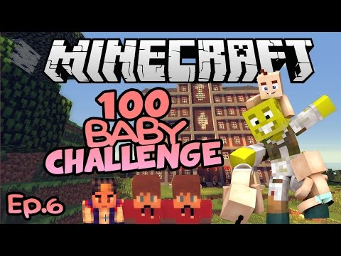 SO MANY BOYS.| Minecraft 100 Baby Challenge Ep.6